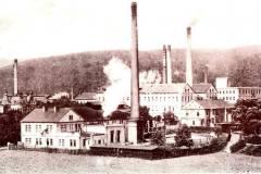 Elektrárna na historickém snímku. Cca 1940